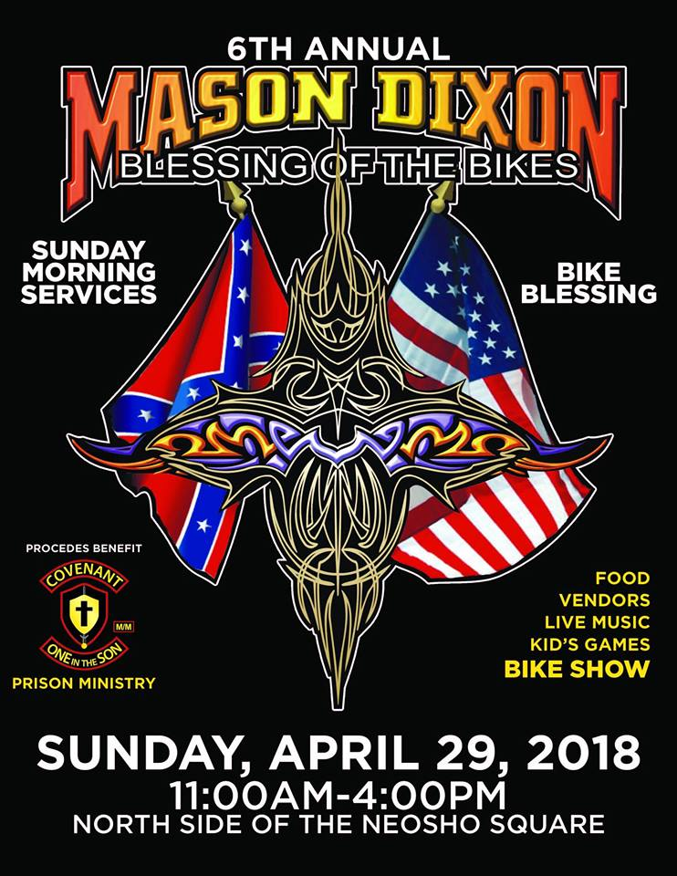 Neosho Area Community Events‎Mason-Dixon Blessing of the Bikes