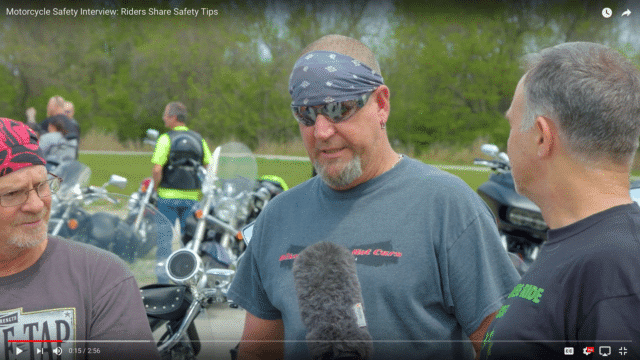 Springfield Motorcycle Safety Awareness Ride Interview