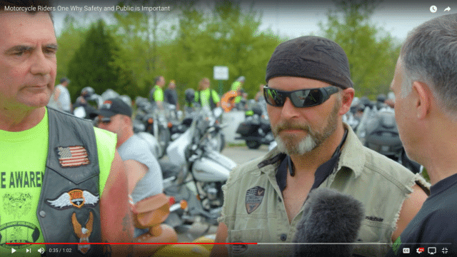 Motorcycle Safety Interview Cell Phones Kill